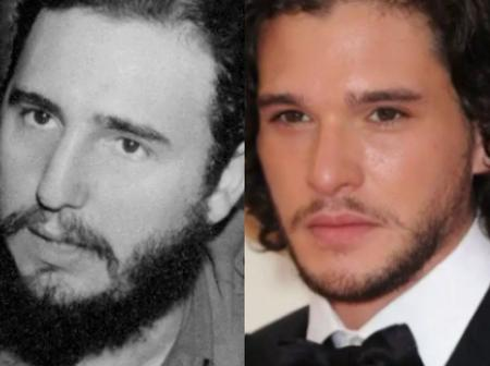 Opinion : Check Out Photos Of This Famous Actor Who Looks So Much Like The Ex President Of Cuba