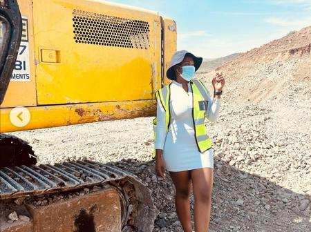 From acting to construction, Isibaya actress is making big moves at the age of 25.