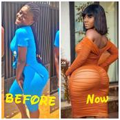 Check Out Throwback Photos Of Bintu Hajia That proves Her Curve Is Natural