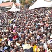 DP Ruto Receives a Grand Welcome From Trans Nzoia Residents (Photos)