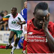 Liverpool star, Sadio Mane mourns the death of his compatriot, Papa Bouba Diop
