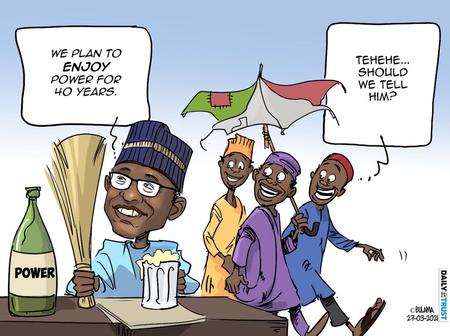 After APC Vowed To Rule For 40years, See Cartoon About PDP's Reaction That Got People Talking Online
