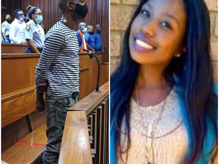 The man who brutally murdered the young woman and buried her body behind friend's house.