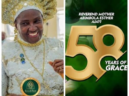 Reverend Esther Ajayi Celebrates 58th Birthday Today, See Her Lovely Photos