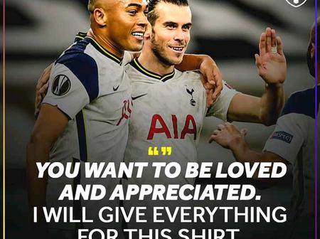See What Bale Said About His Return To Tottenham Hotspurs, After Their Game Yesterday