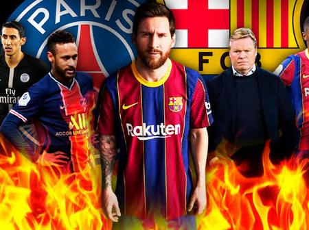 UCL: More Good News For Barcelona Ahead Of PSG Game Tomorrow