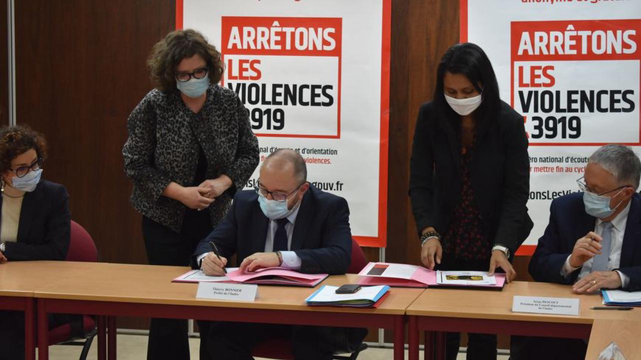 Indre : un nouveau protocole pour améliorer la lutte contre les violences faites aux femmes