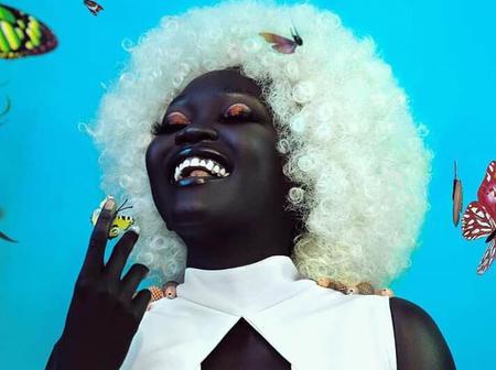 Check out lovely photos of Nayakim Gatwech South Sudanese model (Melanin goddess