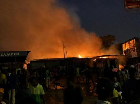 Witness narrates : 23 houses set ablaze amid gunshots over alleged chieftaincy issue in Tamale