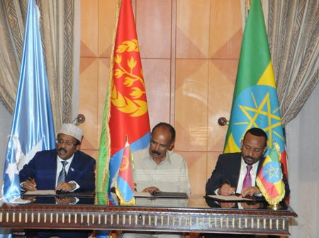 Farmaajo, Abiy Ahmed And Afwerki To Sign Dangerous Agreement