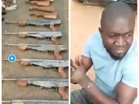 Gun-runner Killed, Another Arrested By Nigerian Military Along Kaduna-Abuja Highway (Watch Video)