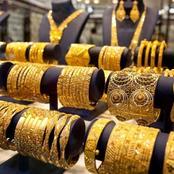 «الذهب يتراجع» هبوط كبير لجميع الأعيرة.. وانخفاض عيار21.. والأهالي:«فرصة للعرسان»