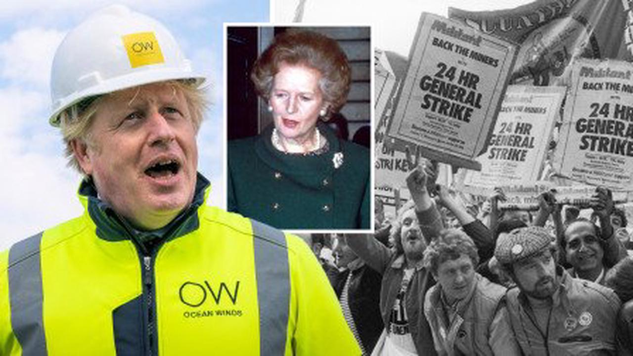 Boris slammed for saying Thatcher started climate fight 'early' by closing mines
