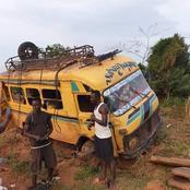 Gagnoa : un véhicule transportant des électeurs fait une sortie de route