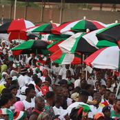 NDC grassroots members descend on Hon. Haruna Iddrisu for speaking about the Supreme Court verdict