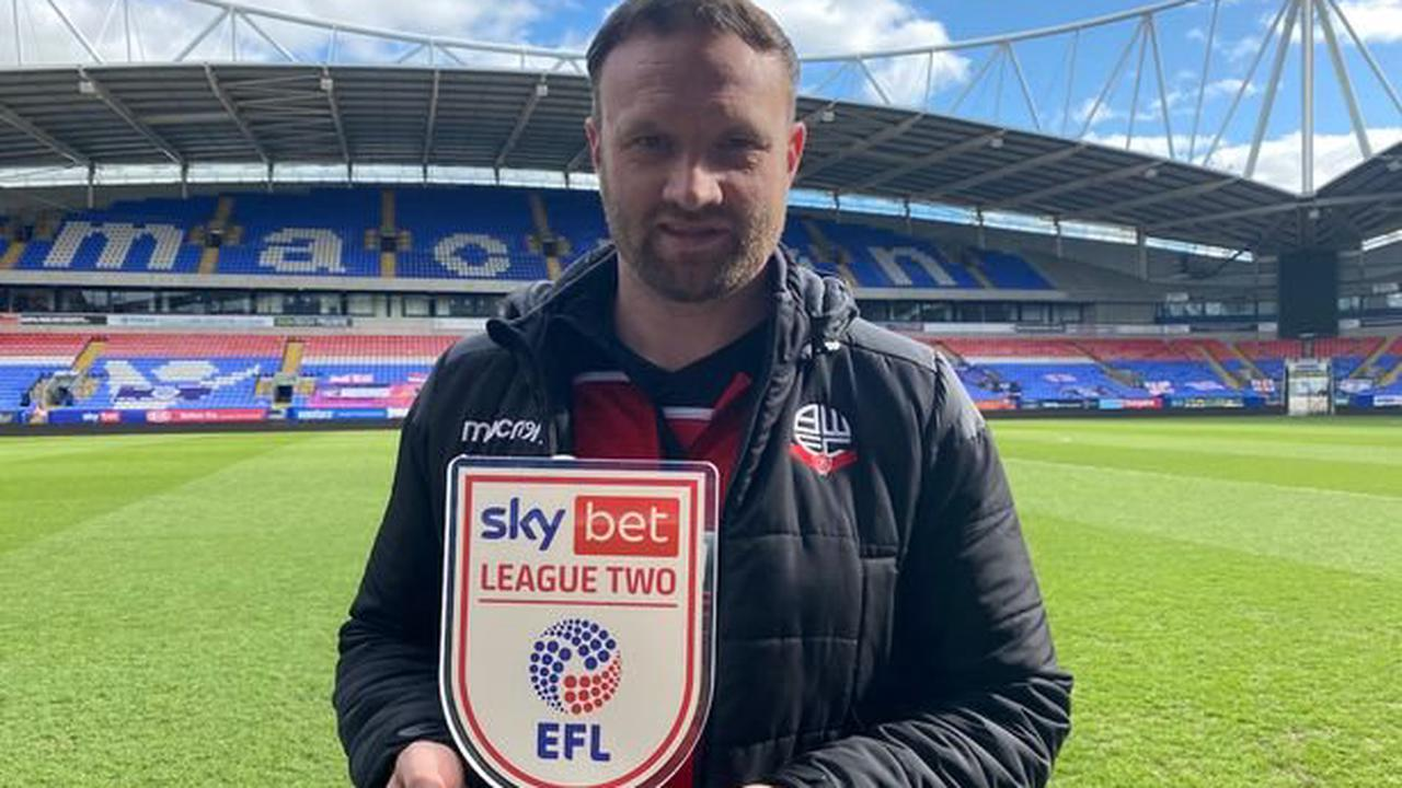 Ian Evatt wins third League Two manager of the month award but why Bolton boss would trade them all