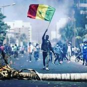 Protest in Senegal after the arrest of the opposition leader.