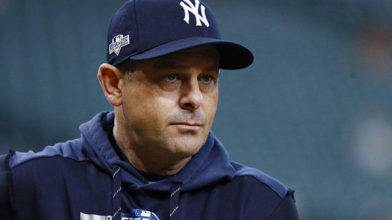 Yankees manager Aaron Boone takes medical leave of absence, team announces