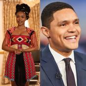 South Africans are happy and celebrating Nomzamo Mbatha and Trevor Noah