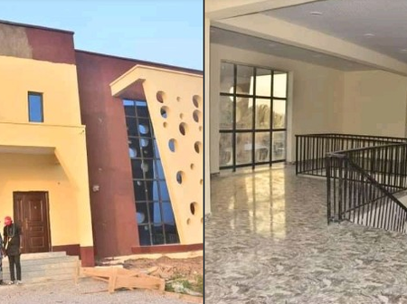 Check Out The Progress Of Work At The National Library Facilitated By Senator Oriolowo