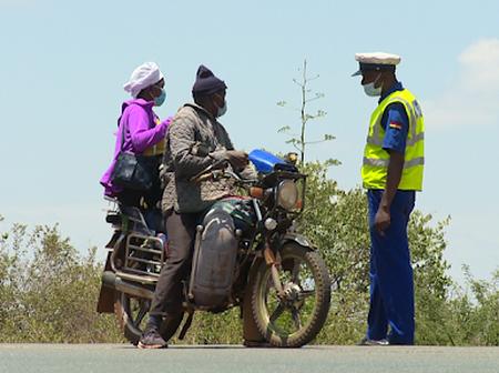 Boda Operators Arrested For Ferrying Passengers Past Gatiiguru Roadblock.