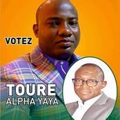 Campagne pour les législatives : une grosse faute observée sur les posters de Touré Alpha Yaya