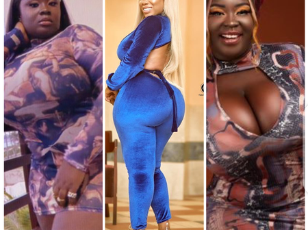 Forget Moesha, Check Out Maame Serwaa's Photos That Show She Is The Curviest In The Movie Industry