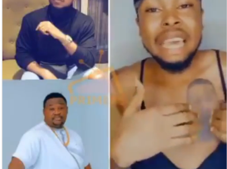 After Man Tattooed Cubana Chief Priest On His Chest, And Was Ignored, Check Out What He Said (Video)