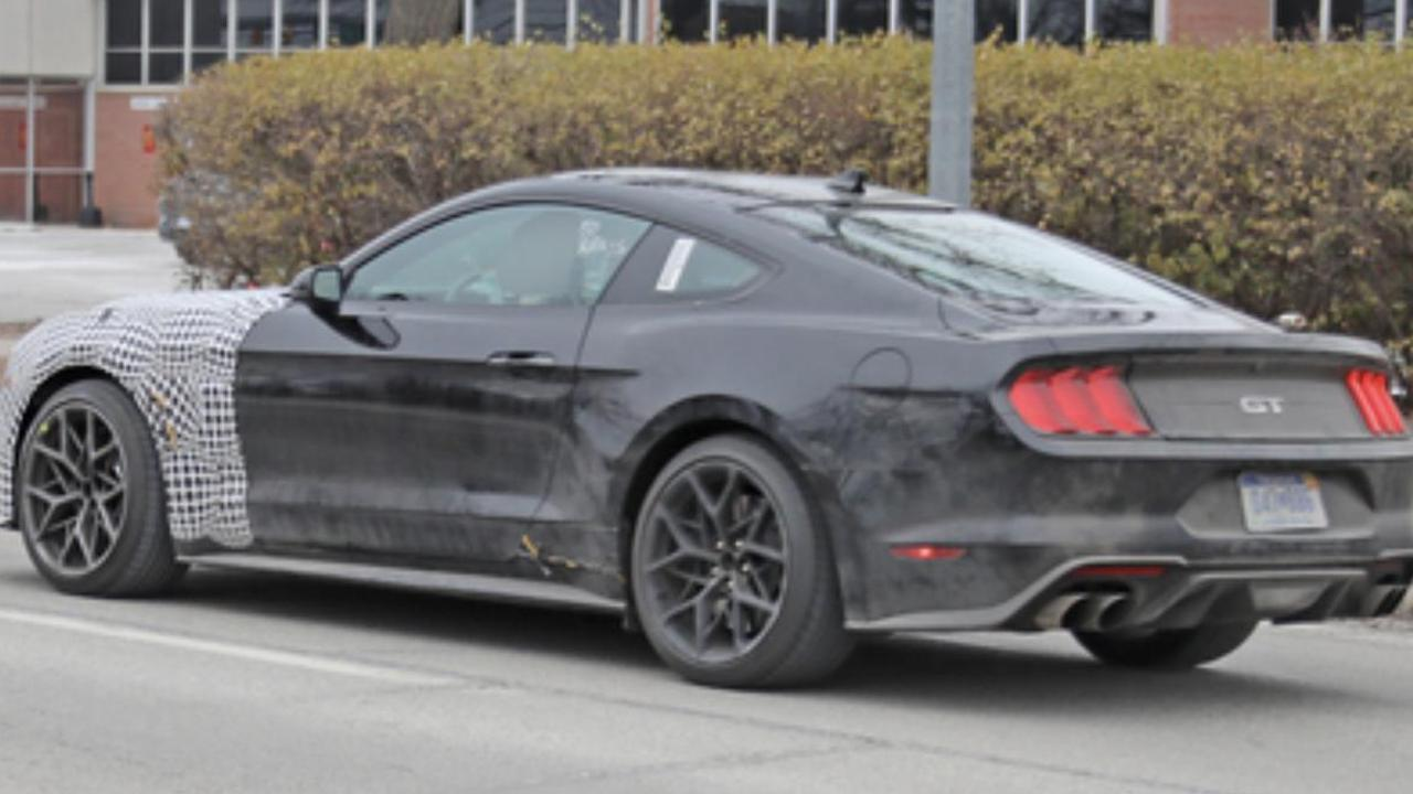 Potential Next Generation Mustang Spied in Camouflage