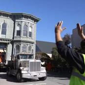 See How This Mansion Was Moved On A Truck To Its New Location