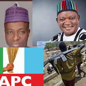 Today's Headlines: Another Top Politician Joins APC, Fulani With AK47 Should Be Treated Like ESN - Ortom