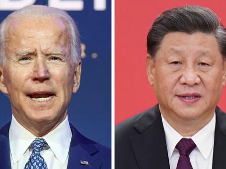 Congrats To Biden As Chinese President Congrtulates Him For Winning The Election