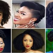 See some Nigerian celebrities that rocked natural hair