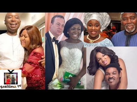 Meet Nollywood Actresses Who Got Married To Older Men.