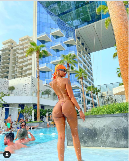 Lord, fill me with your Holy Spirit - Huddah Monroe goes spiritual as she shares hot bikini photos
