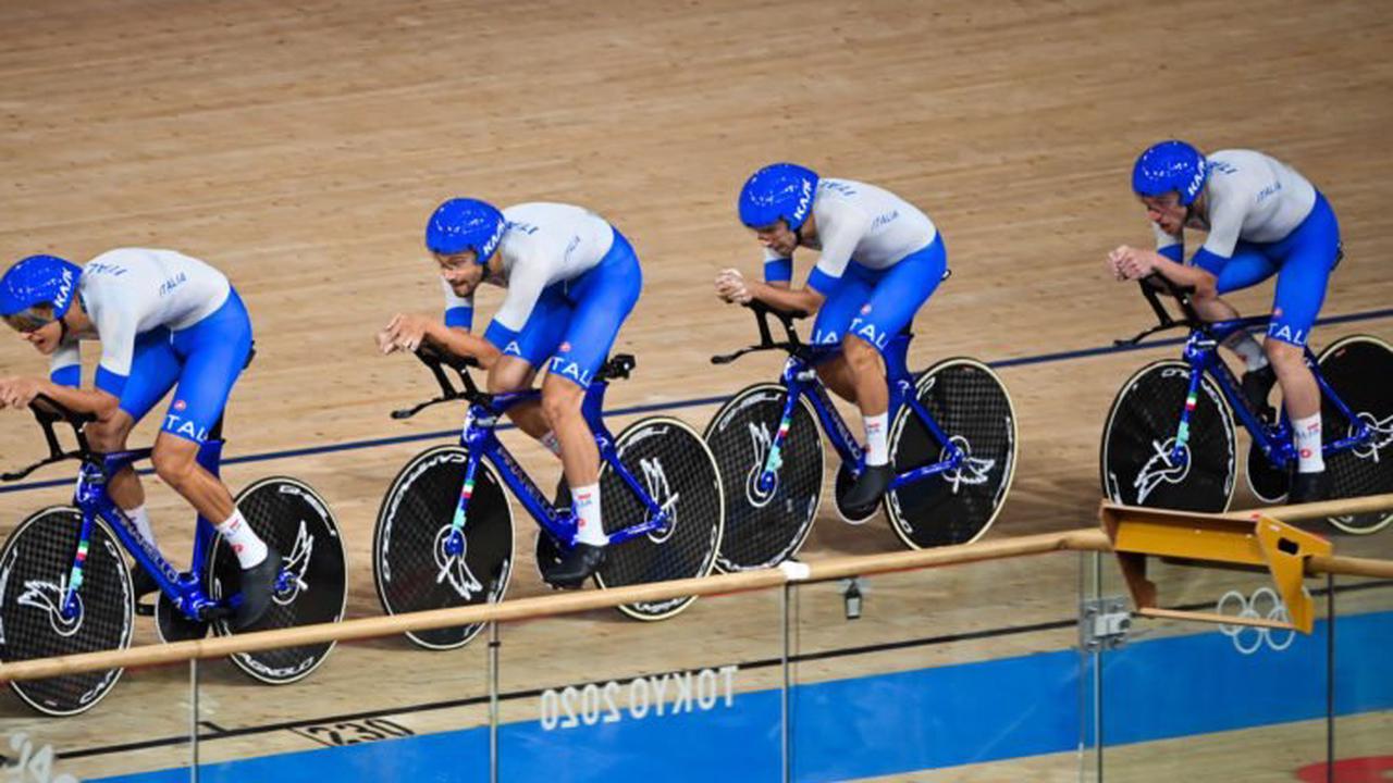 JO 2020 / cyclisme sur piste : Filippo Ganna porte l'Italie vers l'or avec un nouveau record du monde