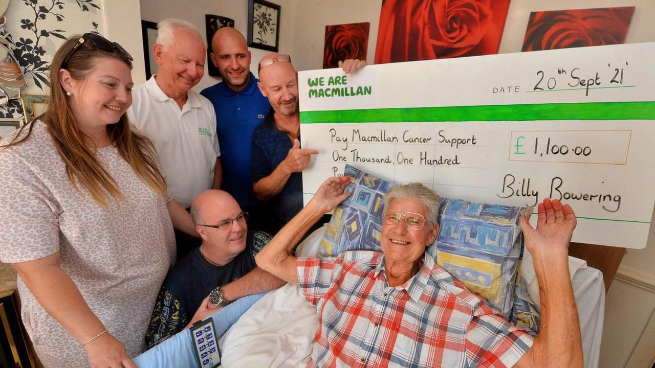 Shropshire town shows its love for terminally-ill football club founder