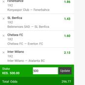 Win Massively Today In 8 Best Matches With 296 High Odds