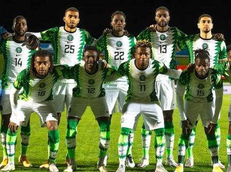 Nigeria team list against Lesotho unveiled