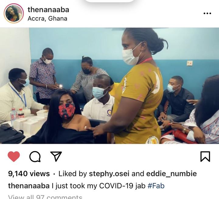 f37ac2855ded4e478367277b9da5dcb9?quality=uhq&resize=720 - CEO Of EIB Network, Bola Ray And Nana Ana Anamoah Takes The COVID-19 Vaccine; Display Their Cards