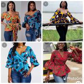 Ladies, Checkout Some Elegant Ankara Peplum Top Styles That Will Give You The African Look