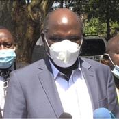 IEBC Chair Wafula Chebukati wants Rashid Echesa Arrested for Slapping a Presiding Officer in Matungu