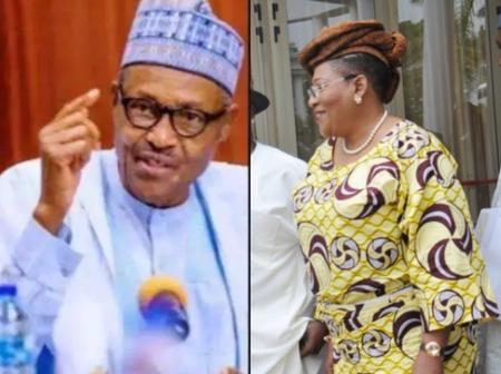 'Thank You For Fighting People In Lagos On My Behalf' - See Video Of Buhari Thanking Kemi Nelson