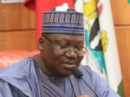"""""""Vote Us Out If You're Tired Of Our Faces"""" – Senate President, Ahmed Lawan Tells Nigerians"""