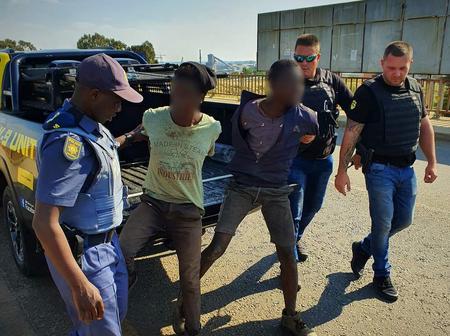 Zama Zamas Arrested By The Police.