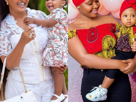 Beautiful Pictures of Nana Ama Mcbrown's and Nana Ama Strong's daughter:Who has more swag?