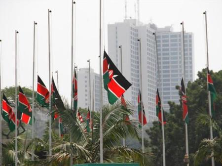 Renown Blogger Clears the Air After Viral Photos of Kenyan Flags Allegedly Being Flown Half Mast