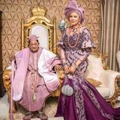 A Beautiful Lady Of 23 Years Old Got Married To An 81 Year Old Alaafin Of Oyo State.