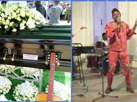 Six Guitars To be Placed Around Gacheru's Casket and Family To follow covid-19 protocols
