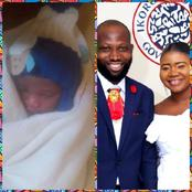 Nollywood Actor, Hamzat Babatunde And Wife Welcomes A New Baby (Photos)